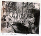 223rd Search Light Battalion, US Servicemen during WWII, Burgaw, NC